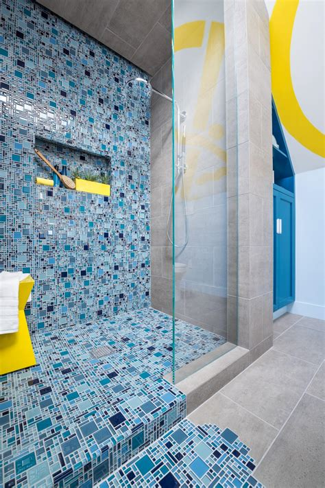 mosaic tile floor bathroom idea to renew your bathroom design with mosaic
