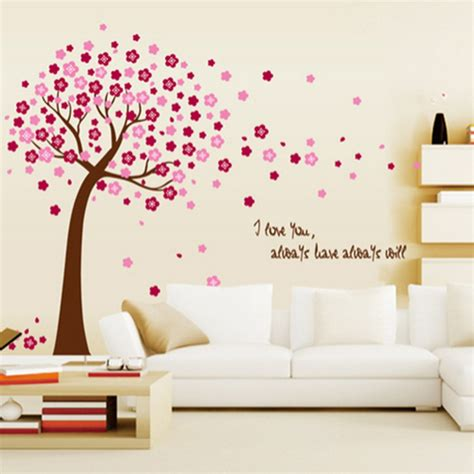 Online Get Cheap Nursery Stickers Trees Aliexpress Com Cheap Nursery Wall Decals
