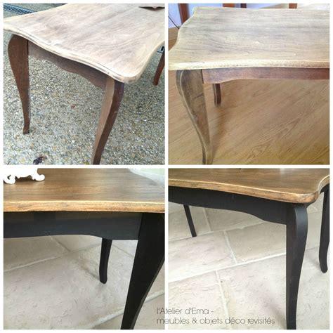 Moderniser Table Basse En Bois by Table Basse En Bois Patine Noir Bois Naturel