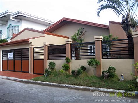 American Craftsman Ranch Simple Bungalow House Design Philippines Philippine