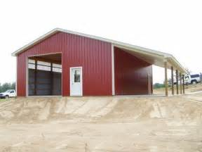 images of pole barn with lean to 30 x 40 x 12 wall