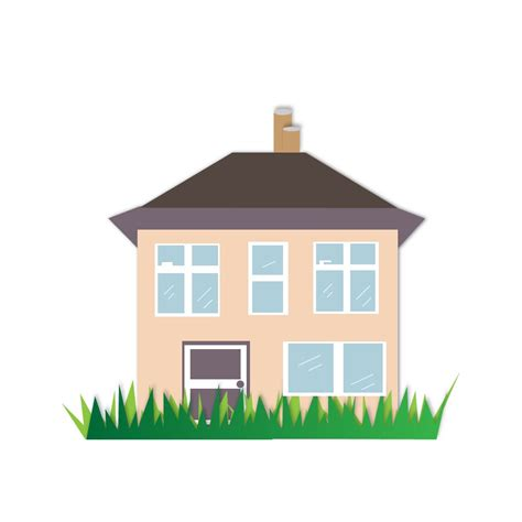 free house house illustration free vector 123freevectors