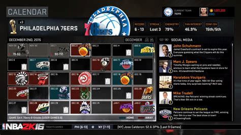 reset 2k16 online record nba 2k16 myleague and mygm details sports gamers online