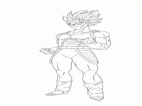 dragon ball z coloring pages bardock dragon ball z coloring pages gohan coloring home
