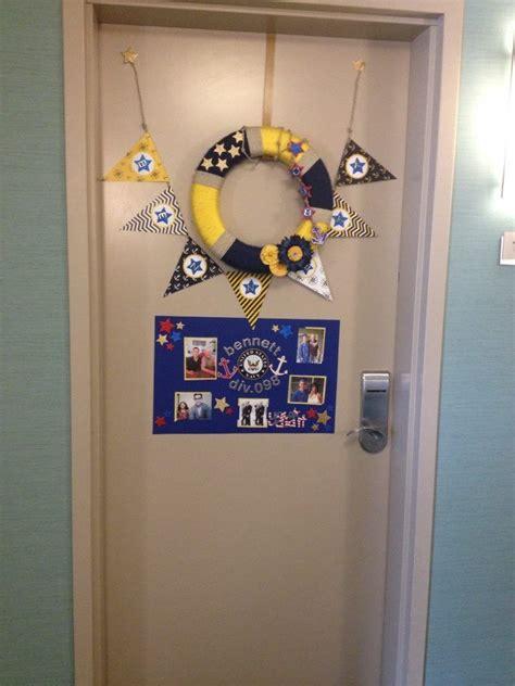 Room Door Decorations by Us Navy Pir Boot C Graduation Hotel Room Door