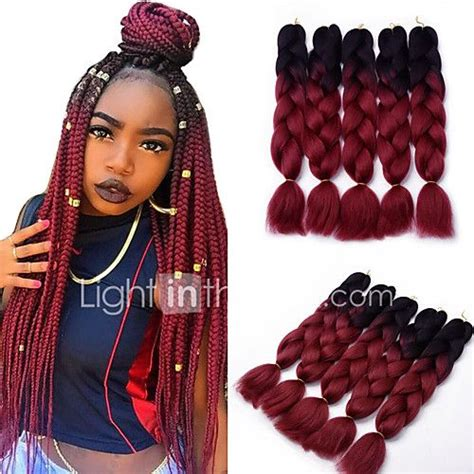 colored kanekalon hair best 25 colored box braids ideas on afro hair