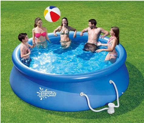 quick set swimming pool only 79 00 shipped at walmart