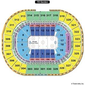td garden seating charts