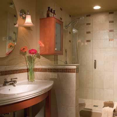 redoing a small bathroom 13 big ideas for small bathrooms this old house