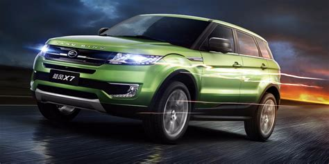 land rover chinese jaguar land rover to sue over chinese evoque knock off