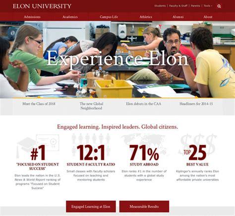 web design inspiration university 28 beautiful college and university websites