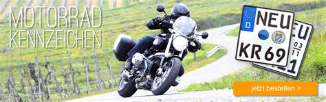 Motorradkennzeichen Online by Kfz Kennzeichen Online Kaufen Viel Zeit Und Geld Sparen