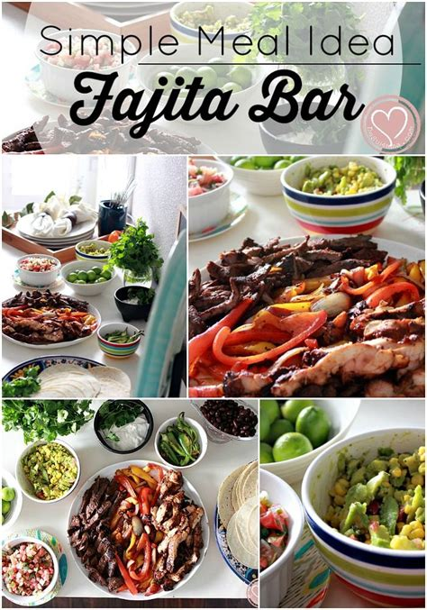 mexican menu ideas for dinner simple dinner meal idea for the busy mexican fajita