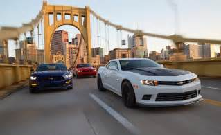 2015 ford mustang gt vs chevrolet camaro ss 1le dodge