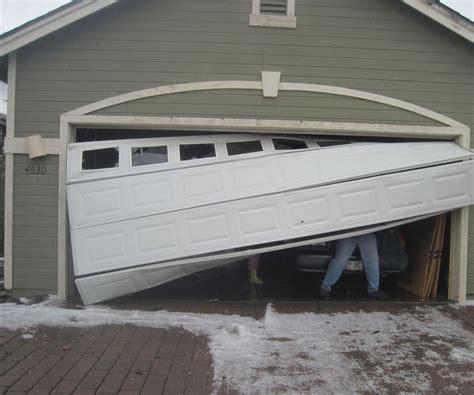 Dented Garage Door by 7 Ways To Fix A Dent In A Garage Door Panel All