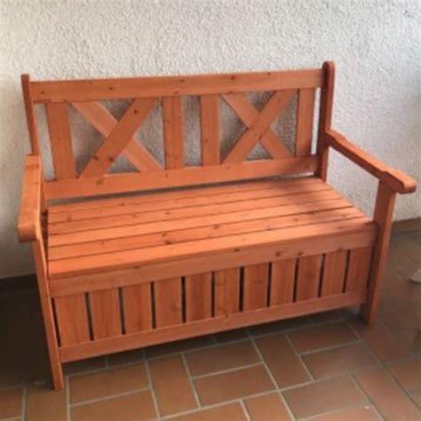 panchina in legno da esterno panchina contenitore da esterno e cassapanca in legno per