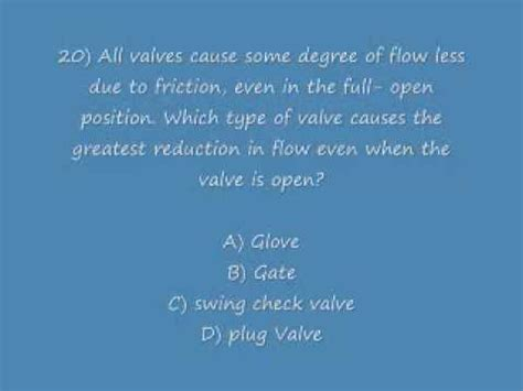 Plumbing Question by Level 1 Plumbing Practice Test 40 Questions