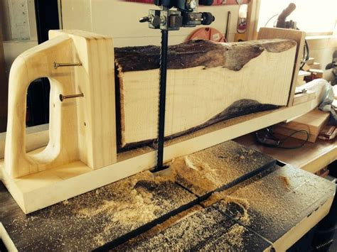 Unfancy Bandsaw Log Sled By Jeffwedekind