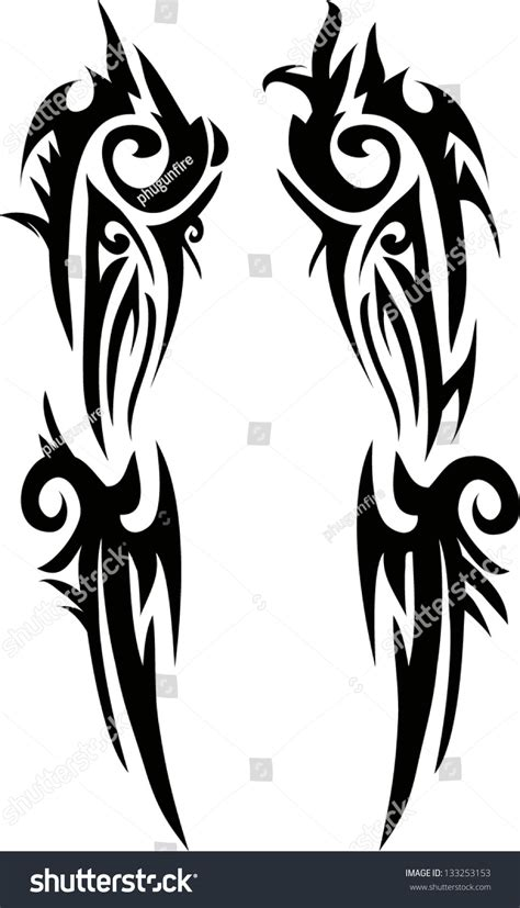 tattoo on arm vector tattoo armsvector stock vector 133253153 shutterstock