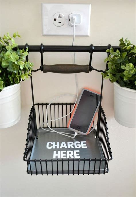 hanging charging station 19 diy charging stations to power up your life