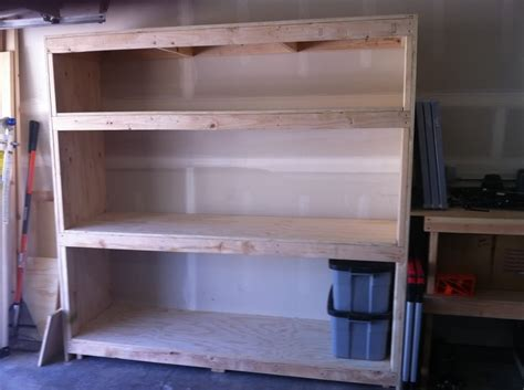2 shelf storage cabinet 2x4 garage shelves for space addition the better garages
