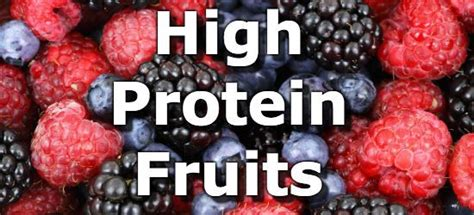 fruit high in protein 23 fruits highest in protein