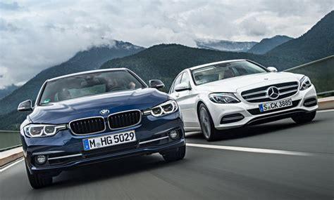 Bmw 3er Versicherung by Bmw 3er Facelift Mercedes C Klasse Vergleich Autozeitung De