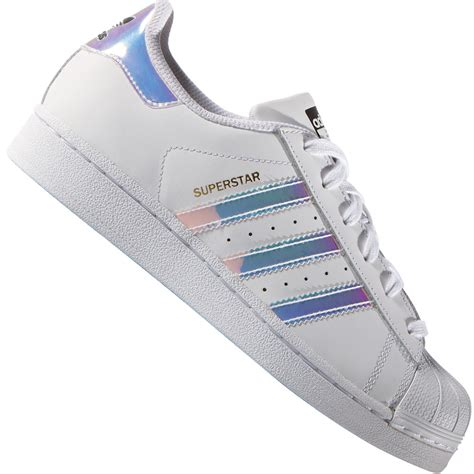 J Adidas adidas originals superstar j sneaker white silver