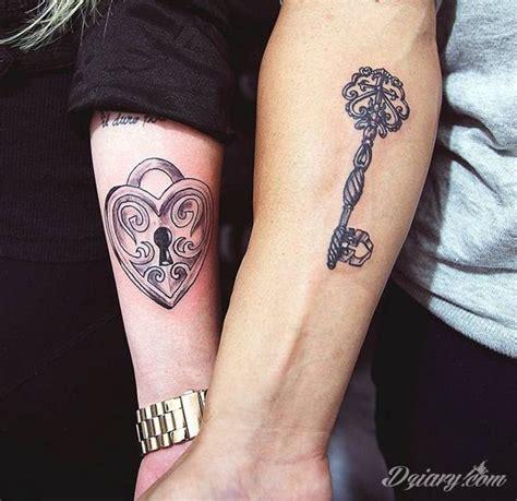 tatuaże dla par podkreślające że jedno nie istnieje