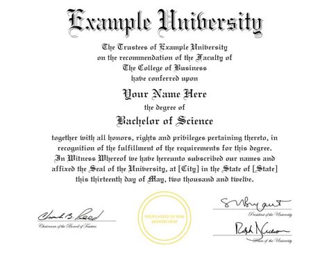 bachelor degree template buy a college diploma