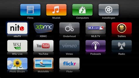 xbmc apple tv tutorial xbmc icon im apple tv men 252 228 ndern olivergast de