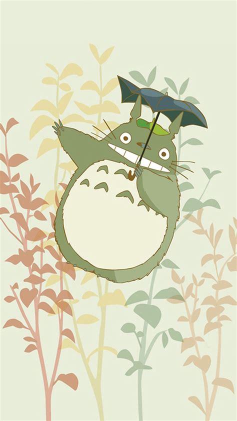 wallpaper iphone 6 totoro anime tonari no totoro iphone wallpaper