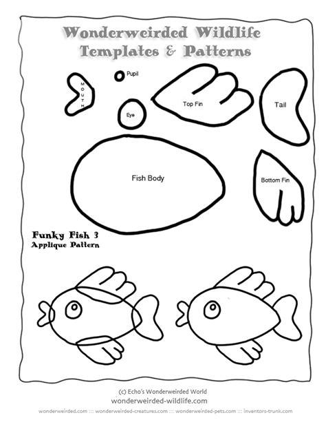 animal pattern words free fish sewing patterns fish applique stuffed animal
