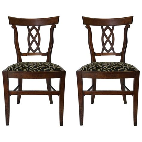 pair of antique side accent chairs for sale at 1stdibs