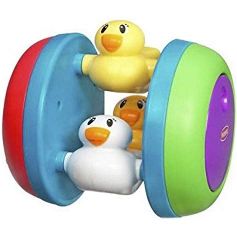 playskool busy n crawl duckies duck rolling rattle