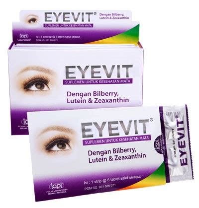 Eyevit Tablet 10 merk vitamin untuk mata yang bagus recommended