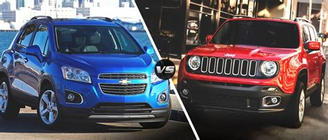 jeep chevrolet 2015 2015 jeep renegade vs 2015 chevrolet trax jeep dealer