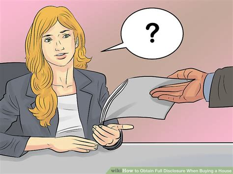 buying a house in full how to obtain full disclosure when buying a house with pictures