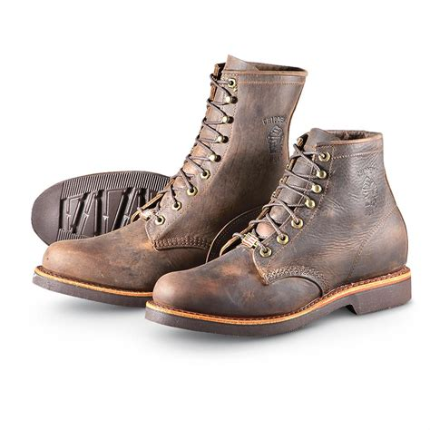 s chippewa boots s chippewa boots 174 8 quot apache lacer boots chocolate