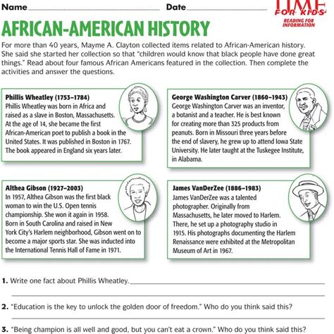 a child s introduction to american history the experiences and events that shaped our country books 14 best images about black history month on