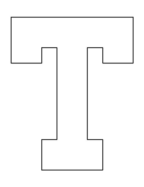 letter i template letter t pattern use the printable outline for crafts