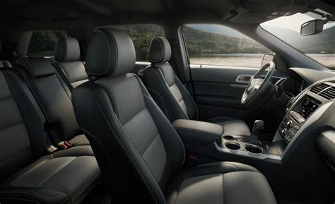 Ford Explorer Interior Pictures by Car And Driver