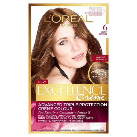 buy l oreal 174 excellence 174 cr 232 me protection hair color in 5 medium brown from bed loreal light brown l oreal recital preference light brown 6 l oreal creme gloss