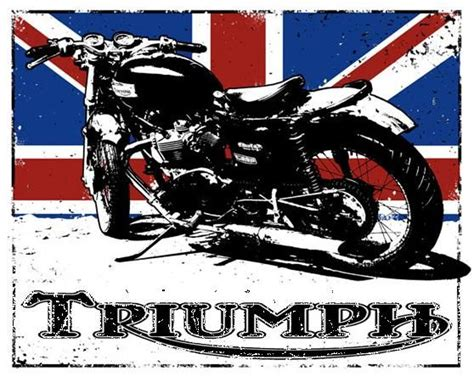 Triumph Motorrad Poster by Triumph Posters Motorcycle Google Search Bikes