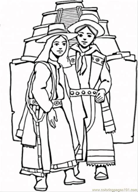 aztec coloring pages pdf aztec coloring page free mexico coloring pages