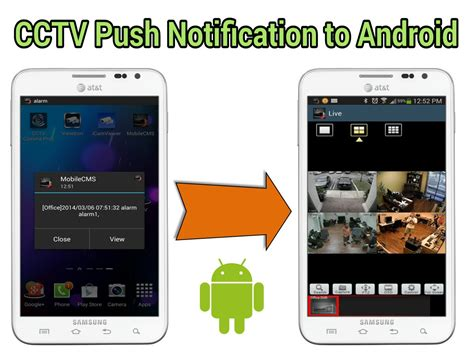 html viewer for android cctv push notification messages to android dvr viewer app