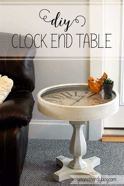 Design For Pedestal Side Table Ideas 31 Diy End Tables Diy