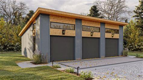 modern style garage plan hartley modern garage garage
