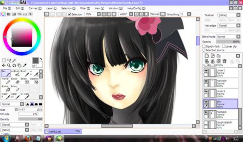 paint tool sai version free 2017 paint tool sai free 1 2 5 version free