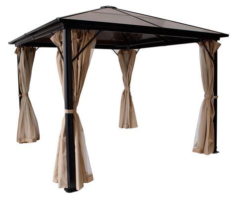 pavillon kunststoff gartenpavillon pavillon metall pavillion montreal alu dach